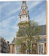 Zuiderkerk In Amsterdam Wood Print