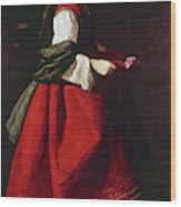 Zurbur�n Saint Casilda Wood Print