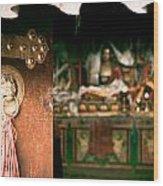 Zuthrul Phug Monastery Milarepas Cave Wood Print