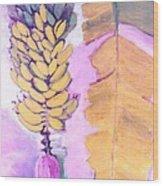 Florida Apple Bananas - 1 Wood Print