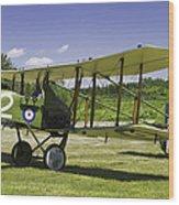 1916 Royal Aircraft F.e.8 World War One Airplane Photo Poster Print Wood Print