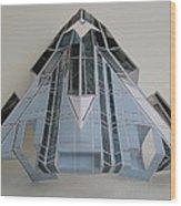 Architecture  Reconstruction Wood Print
