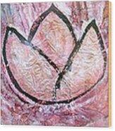 Awakening - The Lotus Wood Print