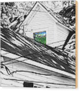Beauregard Attic Baton Rouge Wood Print