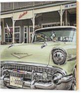 Bel Air 57 Wood Print