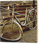 Bicycle Breakdown Wood Print