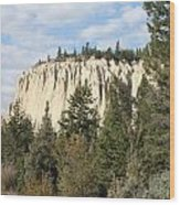 Canadian Rocky Mountain Hoodoos Bc Wood Print