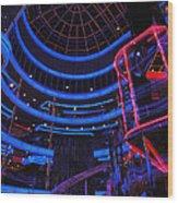 Carnival Atrium Wood Print