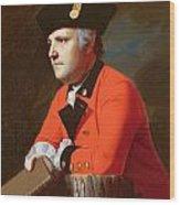 Colonel John Montresor  Wood Print by John Singleton Copley