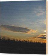 Cornrise Wood Print