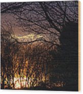 Dawn Of A New Day Wood Print
