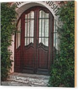 Doorway Eze  Wood Print