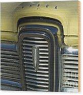 Edsel Grill Wood Print