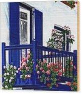 Greek Isles - Mykonos Wood Print