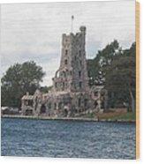 Island Castle Wood Print