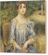 Madame Gaston Bernheim De Villers  Wood Print
