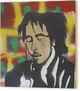 Marley Soul Guitar Wood Print