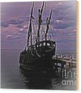 Notorious The Pirate Ship 5 Wood Print
