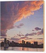Port Of Montreal Wood Print