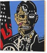 President Barack-obama Full Color Wood Print