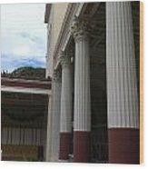 Roman Column  Wood Print