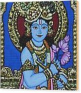Tanjore Painting Wood Print