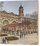 The Ellis Island Immigration Museum Wood Print