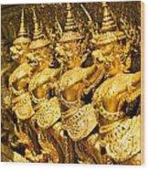 Wat Phra Kaeo Wood Print