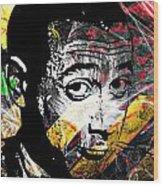 Wee Pee Wood Print