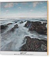 Welsh Coast Wood Print