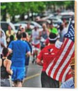 0001 Buffalo Marathon Series 2012  Wood Print