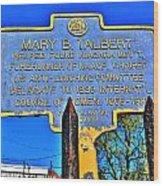0001 Buffalo Ny History Wood Print