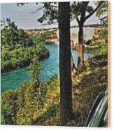 001 Niagara Gorge Trail Series  Wood Print