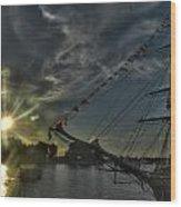 001 Uss Niagara 1813 Series Wood Print