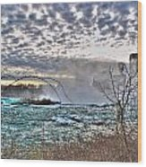 0018 View Of Horseshoe Falls From Terrapin Point Series Wood Print