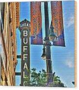 002 Sheas Buffalo Wood Print