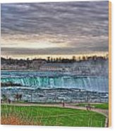 002 View Of Horseshoe Falls From Terrapin Point Series Wood Print