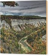0022 Letchworth State Park Series   Wood Print