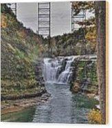0025 Letchworth State Park Series  Wood Print