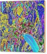 002a Colorful Orchards Wood Print