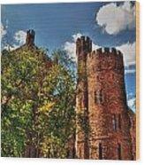 003 The 74th Regimental Armory In Buffalo New York Wood Print