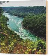 004 Niagara Gorge Trail Series  Wood Print