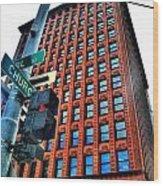 005 Guaranty Building Series Wood Print