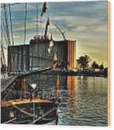 007 Uss Niagara 1813 Series Wood Print