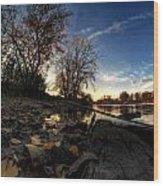008 Autumn At Tifft Nature Preserve Series  Wood Print
