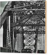 008 Grand Island Bridge Series Wood Print