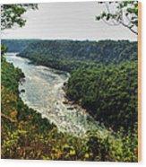 009 Niagara Gorge Trail Series  Wood Print