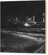 010 Niagara Falls Usa Rapids Series Wood Print