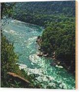 011 Niagara Gorge Trail Series  Wood Print