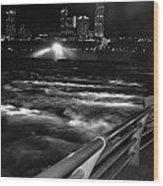 012 Niagara Falls Usa Rapids Series Wood Print